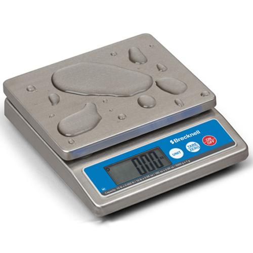 Brecknell 816965006557 IP67 6030 Water Proof Portion Control Scale 10 x 0.002 lb