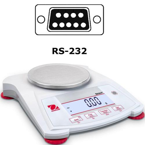 Ohaus Scout SPX422 Portable Balance 420 x 0.01g With RS232