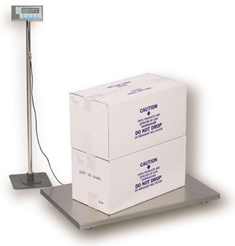 Salter Brecknell PS-500 Floor Scales / Veterinary Scales